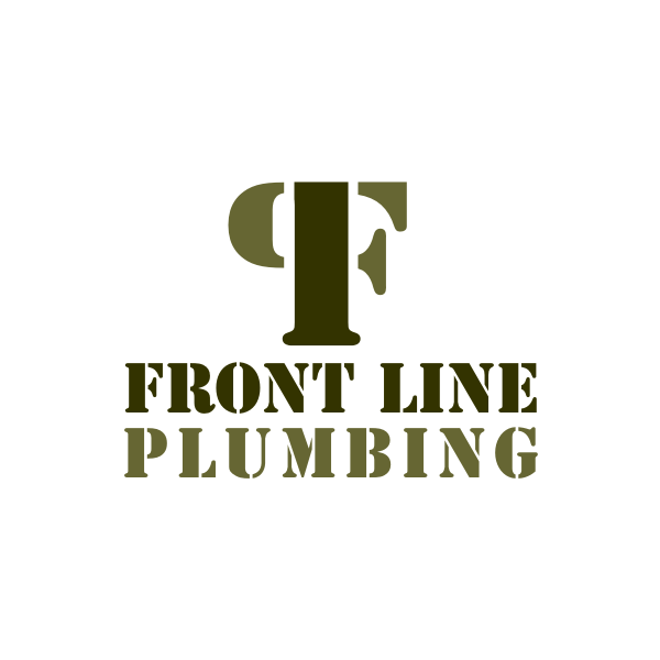 Logo Design by Rudy - Entry No. 22 in the Logo Design Contest Fun Logo Design for Front Line Plumbing.