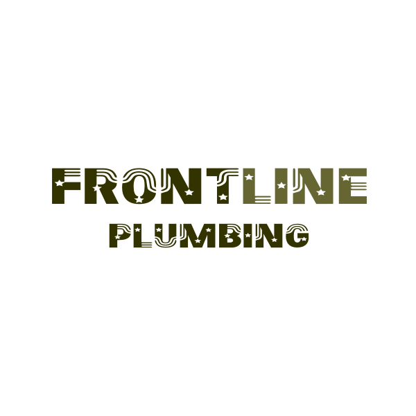 Logo Design by Rudy - Entry No. 23 in the Logo Design Contest Fun Logo Design for Front Line Plumbing.
