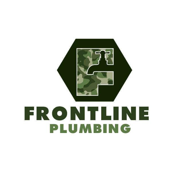 Logo Design by Rudy - Entry No. 24 in the Logo Design Contest Fun Logo Design for Front Line Plumbing.