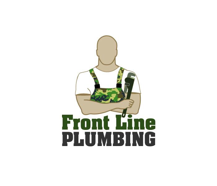 Logo Design by Niki_e_Z - Entry No. 25 in the Logo Design Contest Fun Logo Design for Front Line Plumbing.