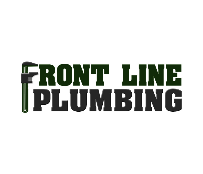 Logo Design by Niki_e_Z - Entry No. 26 in the Logo Design Contest Fun Logo Design for Front Line Plumbing.
