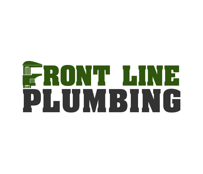 Logo Design by Niki_e_Z - Entry No. 27 in the Logo Design Contest Fun Logo Design for Front Line Plumbing.