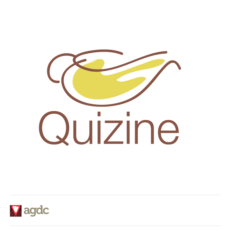 Logo Design by Private User - Entry No. 56 in the Logo Design Contest Quizine Logo Design.