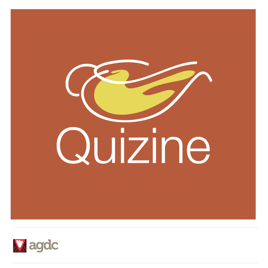 Logo Design by Private User - Entry No. 57 in the Logo Design Contest Quizine Logo Design.
