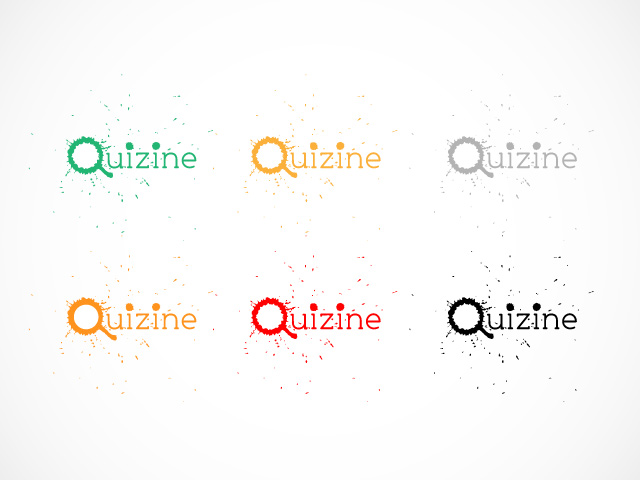 Logo Design by hali3n - Entry No. 58 in the Logo Design Contest Quizine Logo Design.