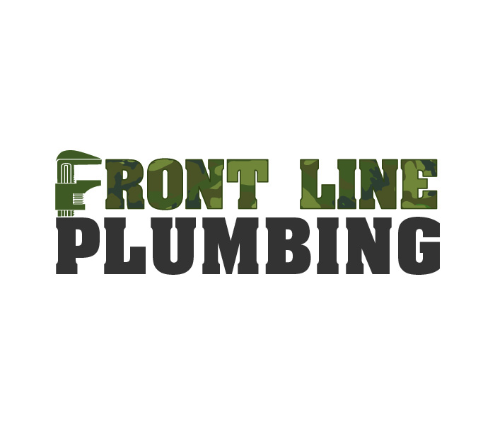 Logo Design by Niki_e_Z - Entry No. 30 in the Logo Design Contest Fun Logo Design for Front Line Plumbing.