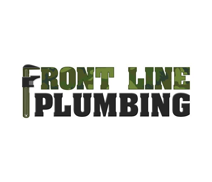 Logo Design by Niki_e_Z - Entry No. 31 in the Logo Design Contest Fun Logo Design for Front Line Plumbing.