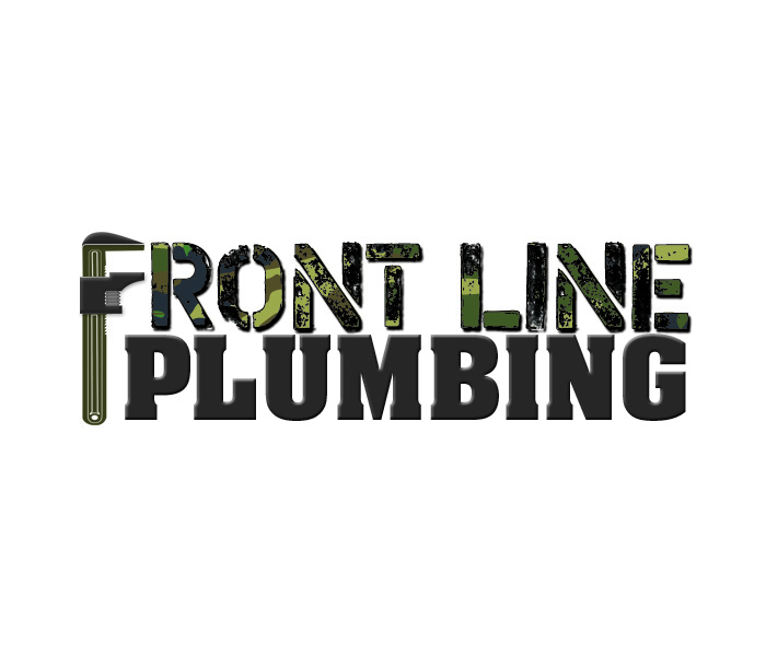 Logo Design by Niki_e_Z - Entry No. 32 in the Logo Design Contest Fun Logo Design for Front Line Plumbing.