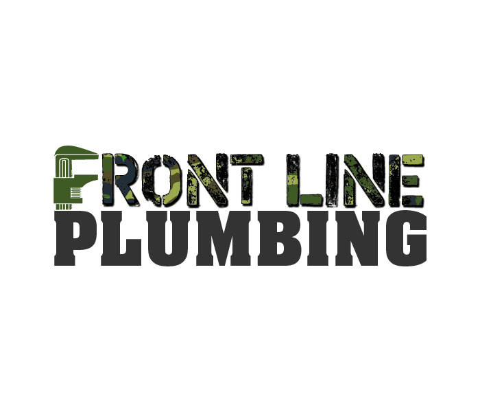 Logo Design by Niki_e_Z - Entry No. 33 in the Logo Design Contest Fun Logo Design for Front Line Plumbing.