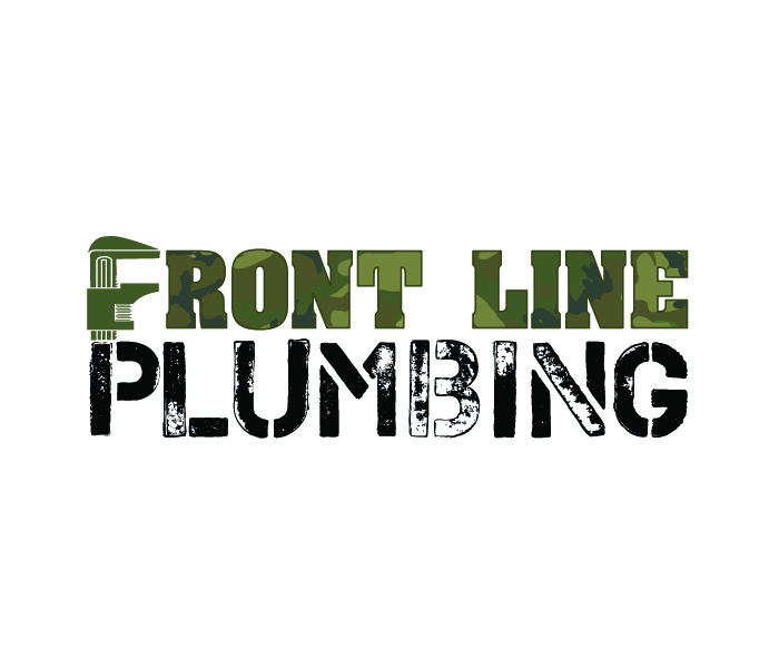 Logo Design by Niki_e_Z - Entry No. 34 in the Logo Design Contest Fun Logo Design for Front Line Plumbing.