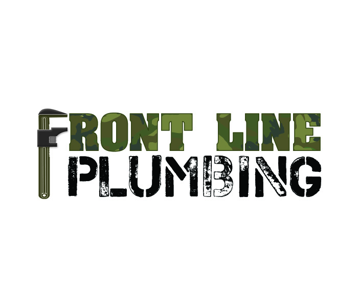 Logo Design by Niki_e_Z - Entry No. 35 in the Logo Design Contest Fun Logo Design for Front Line Plumbing.