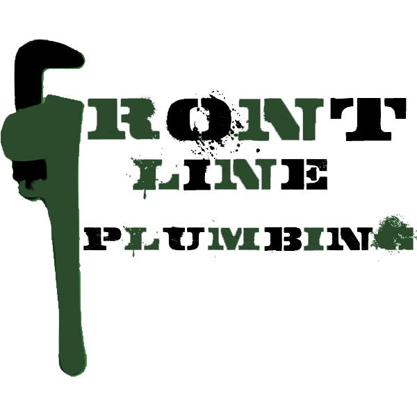 Logo Design by Aaron Griffiths - Entry No. 36 in the Logo Design Contest Fun Logo Design for Front Line Plumbing.