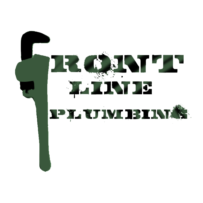 Logo Design by Aaron Griffiths - Entry No. 37 in the Logo Design Contest Fun Logo Design for Front Line Plumbing.