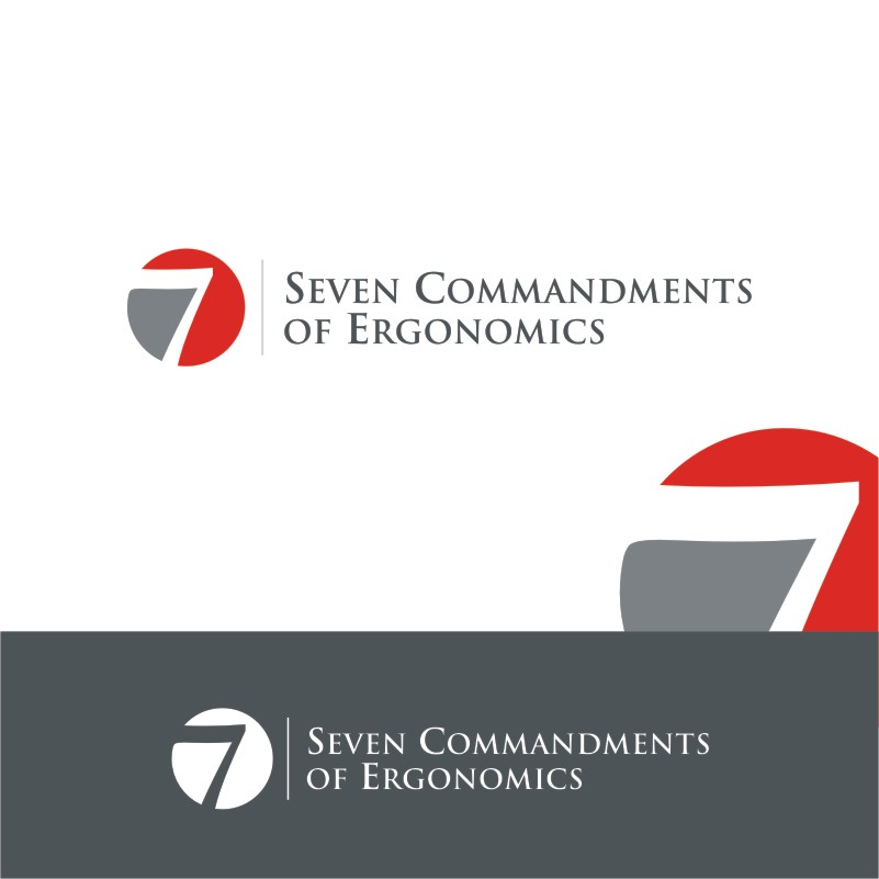 Logo Design by Private User - Entry No. 90 in the Logo Design Contest Logo Design for Seven Commandments of Ergonomics.