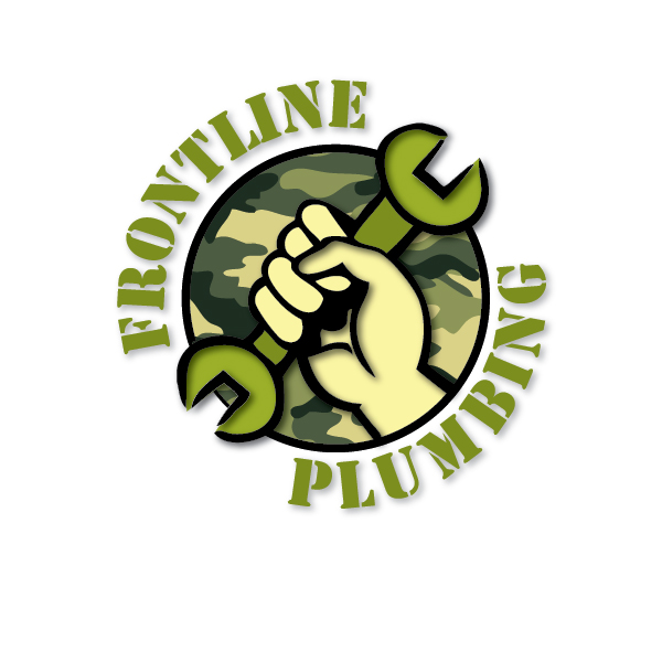 Logo Design by cmcelroy - Entry No. 42 in the Logo Design Contest Fun Logo Design for Front Line Plumbing.
