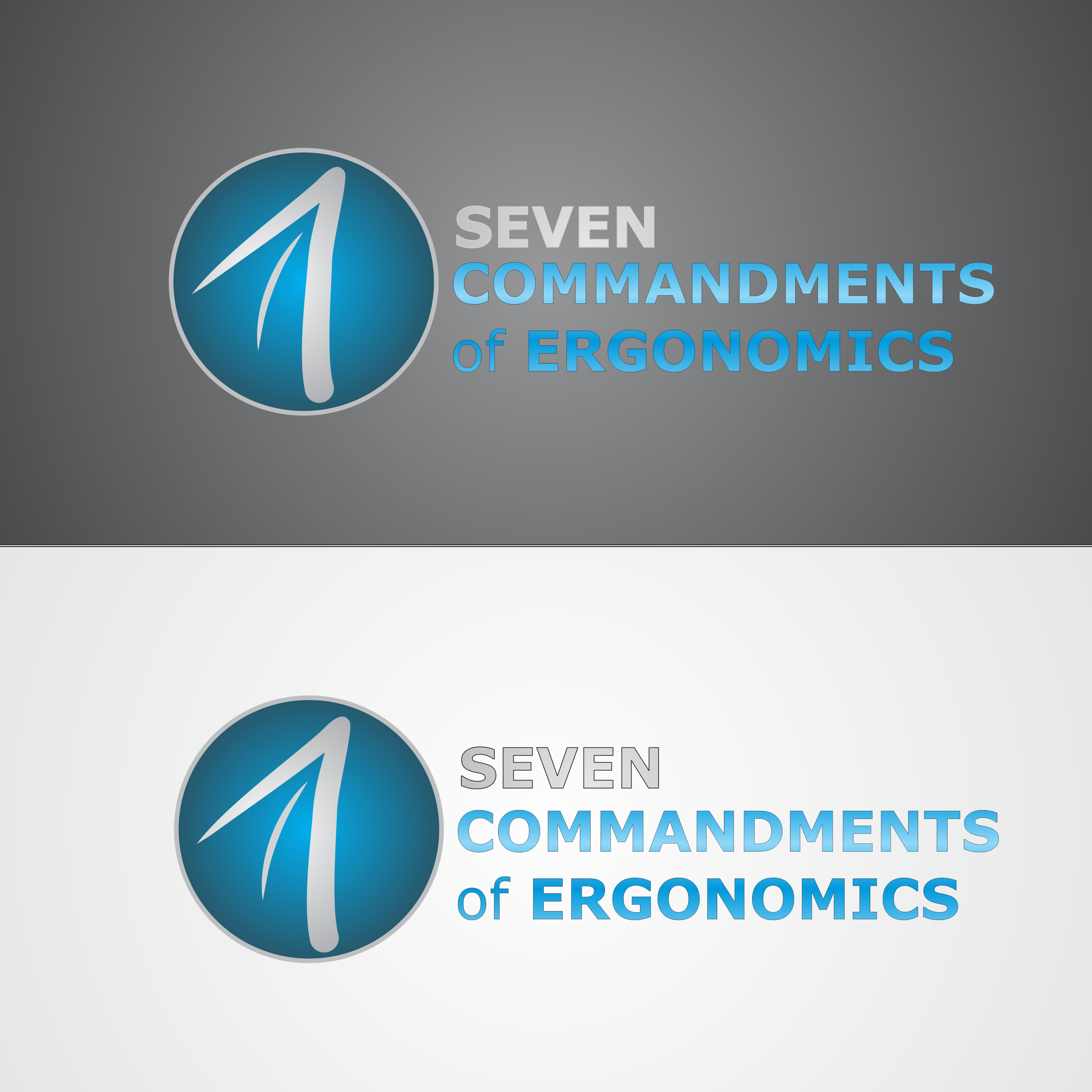 Logo Design by robbiemack - Entry No. 96 in the Logo Design Contest Logo Design for Seven Commandments of Ergonomics.