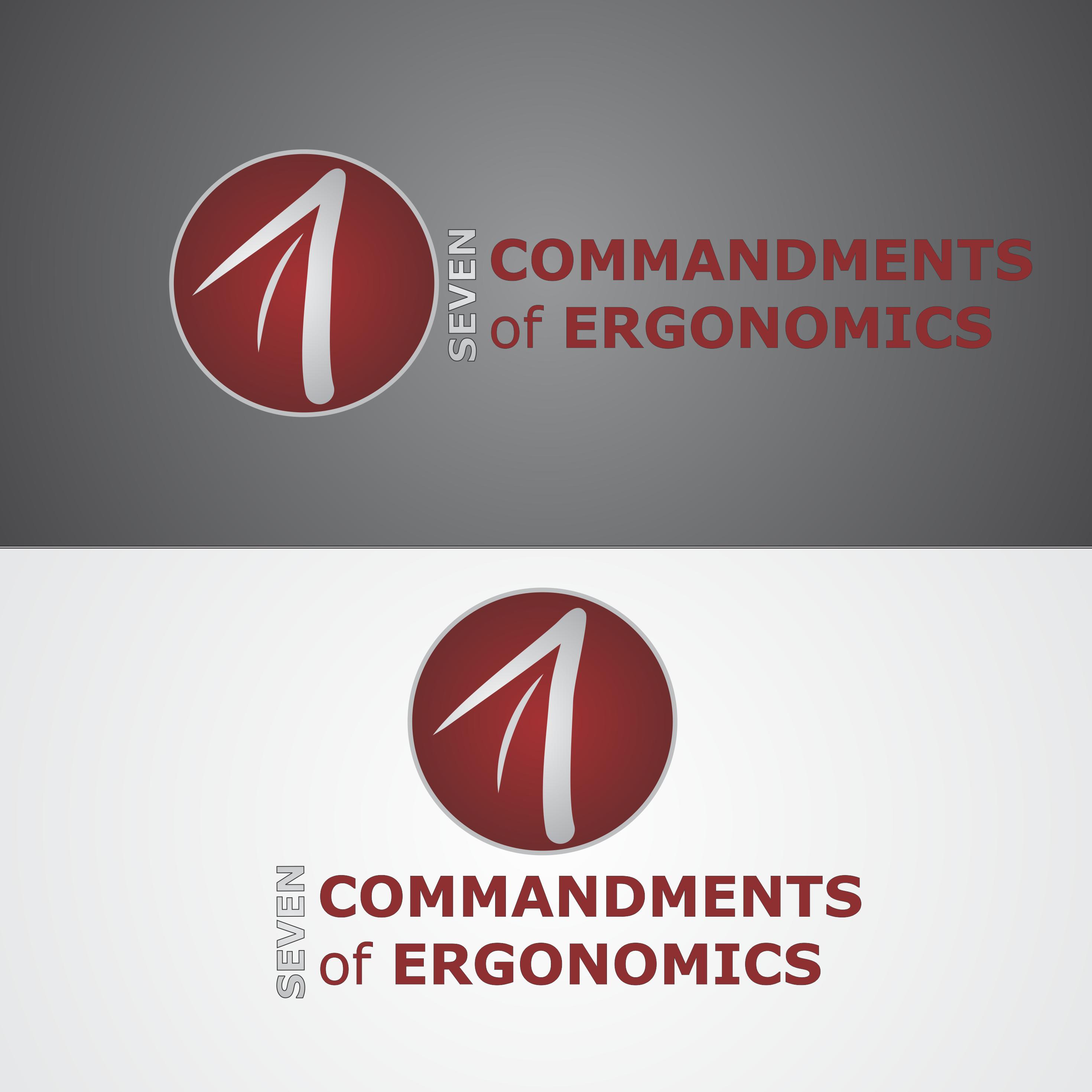 Logo Design by robbiemack - Entry No. 98 in the Logo Design Contest Logo Design for Seven Commandments of Ergonomics.