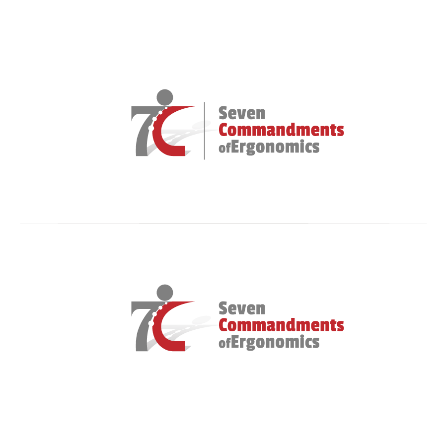 Logo Design by zesthar - Entry No. 100 in the Logo Design Contest Logo Design for Seven Commandments of Ergonomics.