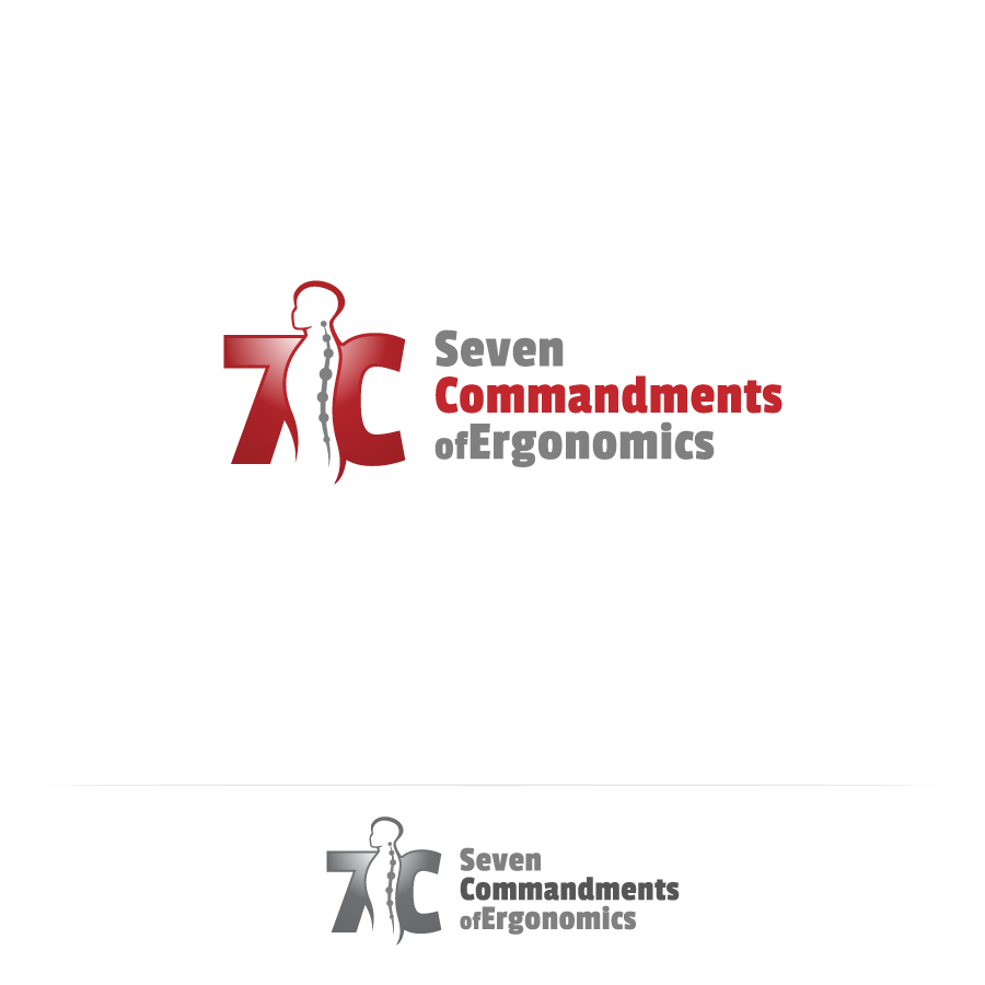 Logo Design by zesthar - Entry No. 104 in the Logo Design Contest Logo Design for Seven Commandments of Ergonomics.