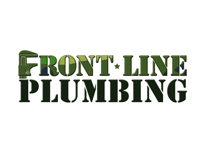 Logo Design by Niki_e_Z - Entry No. 58 in the Logo Design Contest Fun Logo Design for Front Line Plumbing.