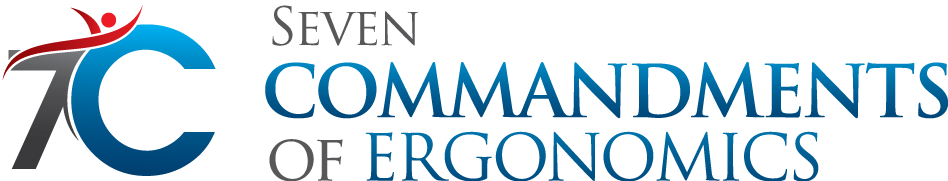Logo Design by Private User - Entry No. 107 in the Logo Design Contest Logo Design for Seven Commandments of Ergonomics.
