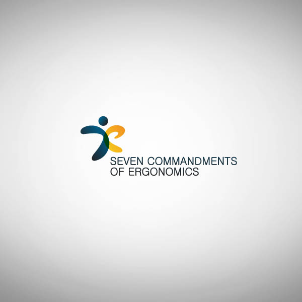 Logo Design by Pandu Wijaya - Entry No. 109 in the Logo Design Contest Logo Design for Seven Commandments of Ergonomics.