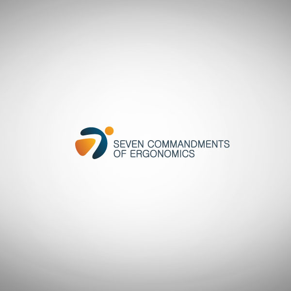 Logo Design by Pandu Wijaya - Entry No. 110 in the Logo Design Contest Logo Design for Seven Commandments of Ergonomics.