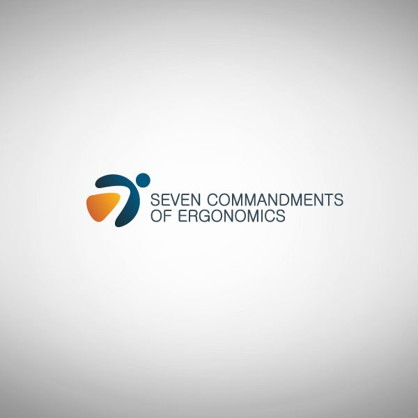 Logo Design by Pandu Wijaya - Entry No. 111 in the Logo Design Contest Logo Design for Seven Commandments of Ergonomics.