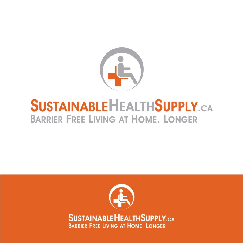 Logo Design by Private User - Entry No. 7 in the Logo Design Contest Logo Design Needed for Exciting New Company Sustainable Health Supply.