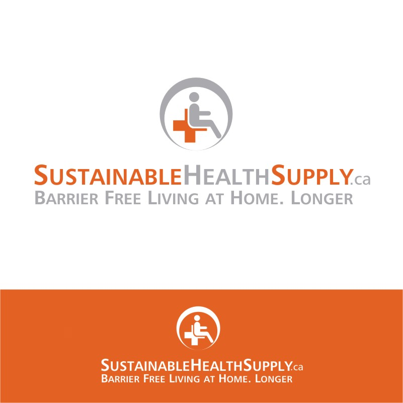 Logo Design by Private User - Entry No. 8 in the Logo Design Contest Logo Design Needed for Exciting New Company Sustainable Health Supply.