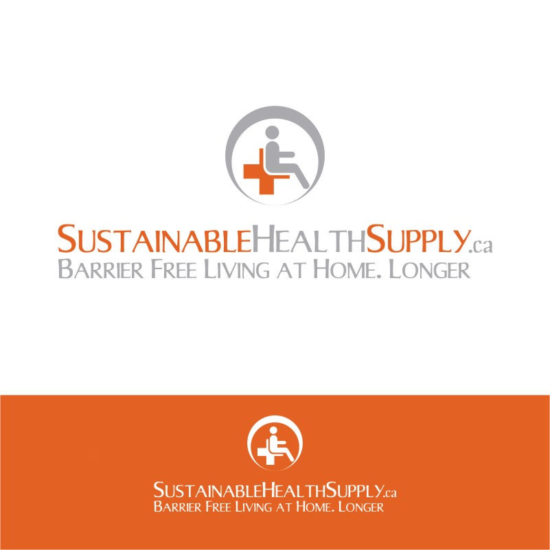 Logo Design by Private User - Entry No. 9 in the Logo Design Contest Logo Design Needed for Exciting New Company Sustainable Health Supply.