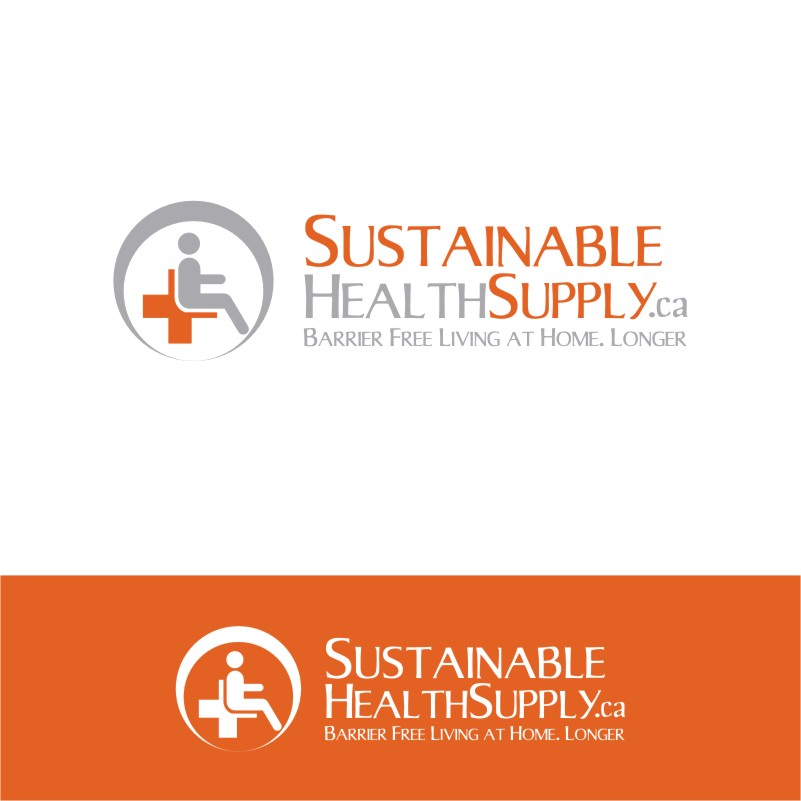 Logo Design by Private User - Entry No. 11 in the Logo Design Contest Logo Design Needed for Exciting New Company Sustainable Health Supply.