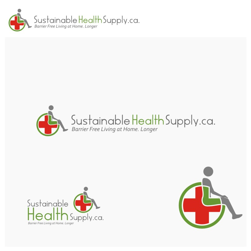 Logo Design by Muhammad Nasrul chasib - Entry No. 16 in the Logo Design Contest Logo Design Needed for Exciting New Company Sustainable Health Supply.