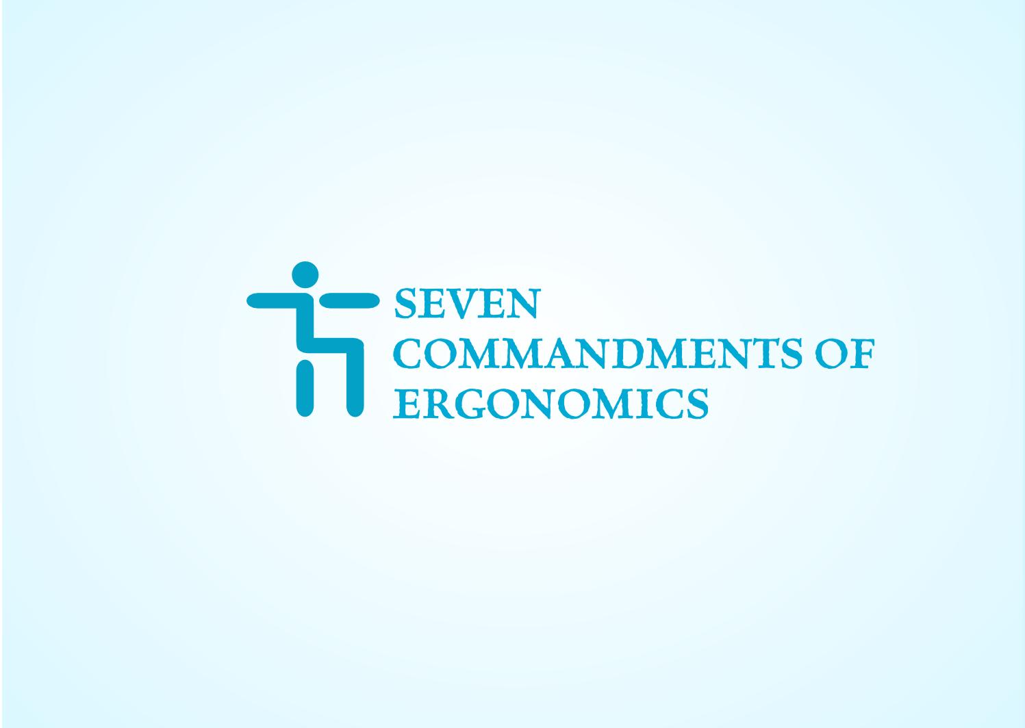 Logo Design by Joseph calunsag Cagaanan - Entry No. 115 in the Logo Design Contest Logo Design for Seven Commandments of Ergonomics.