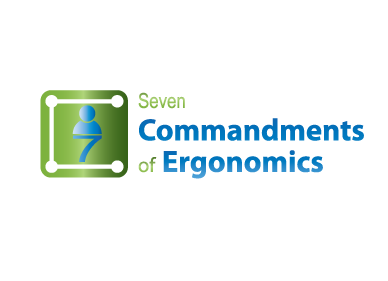 Logo Design by Jolland Castro - Entry No. 122 in the Logo Design Contest Logo Design for Seven Commandments of Ergonomics.