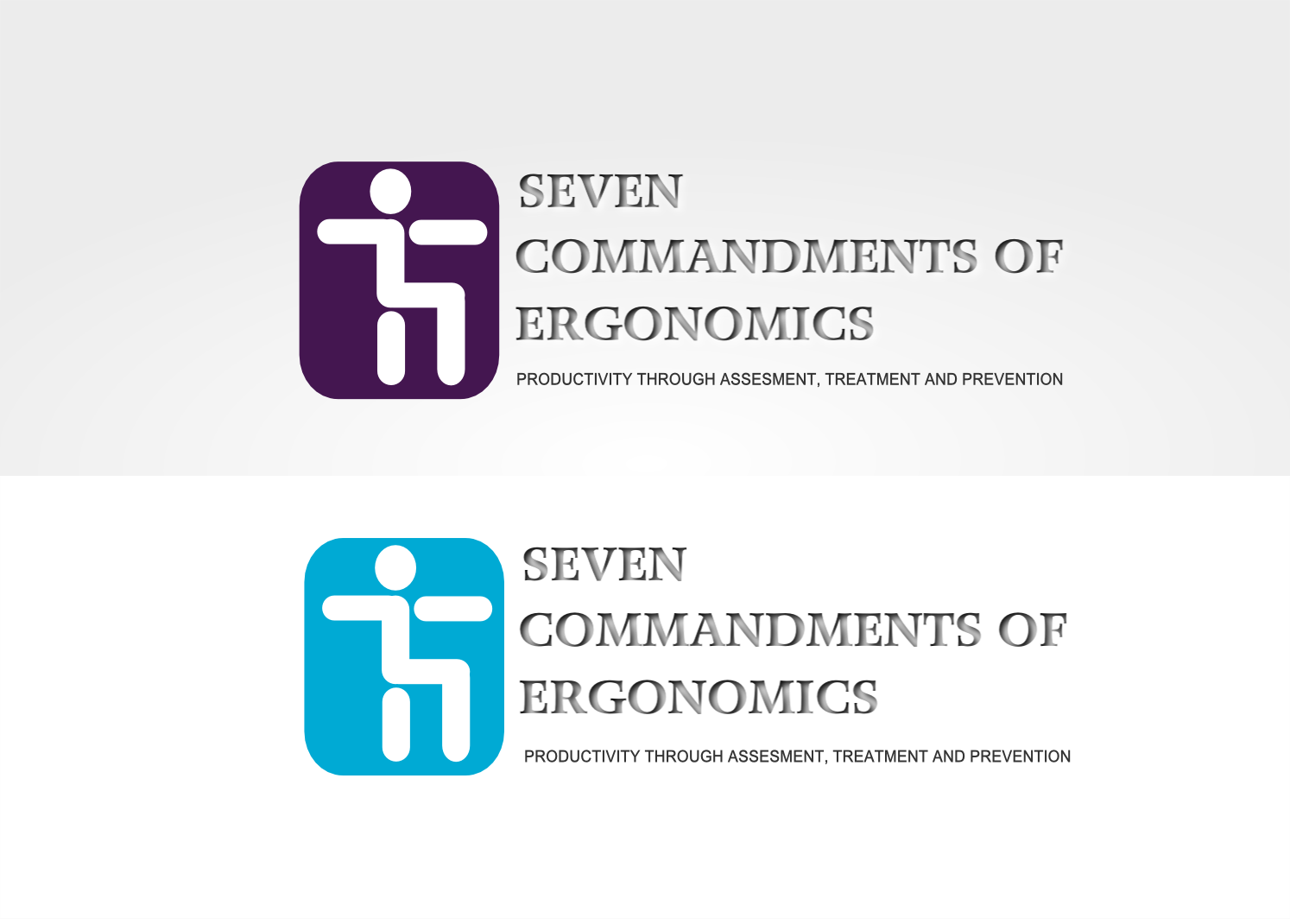 Logo Design by Joseph calunsag Cagaanan - Entry No. 123 in the Logo Design Contest Logo Design for Seven Commandments of Ergonomics.