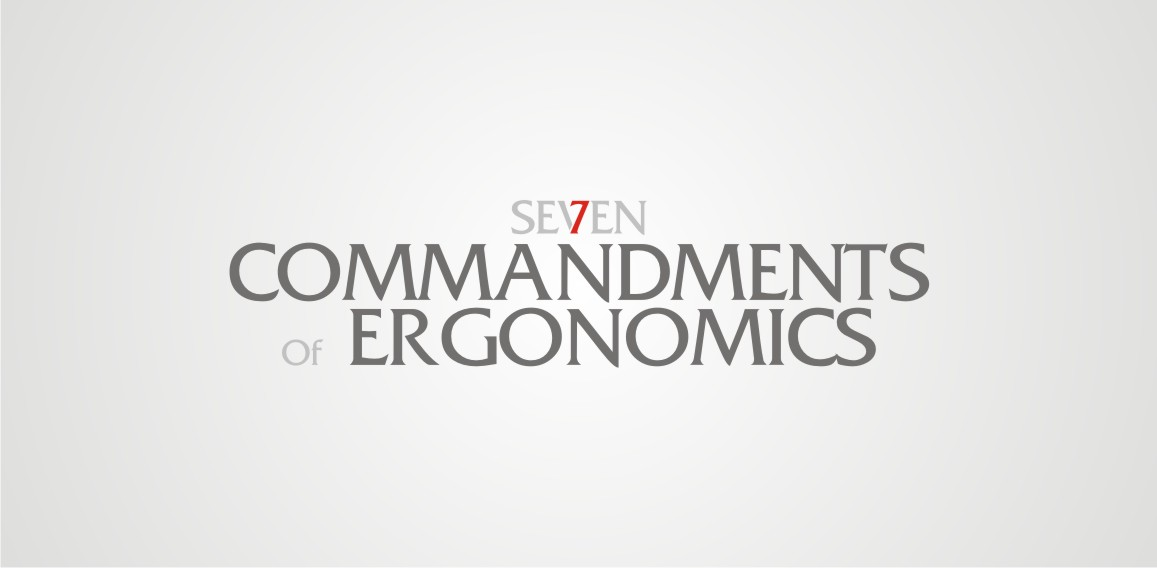 Logo Design by Private User - Entry No. 124 in the Logo Design Contest Logo Design for Seven Commandments of Ergonomics.