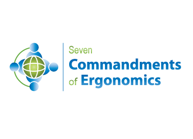 Logo Design by Jolland Castro - Entry No. 126 in the Logo Design Contest Logo Design for Seven Commandments of Ergonomics.