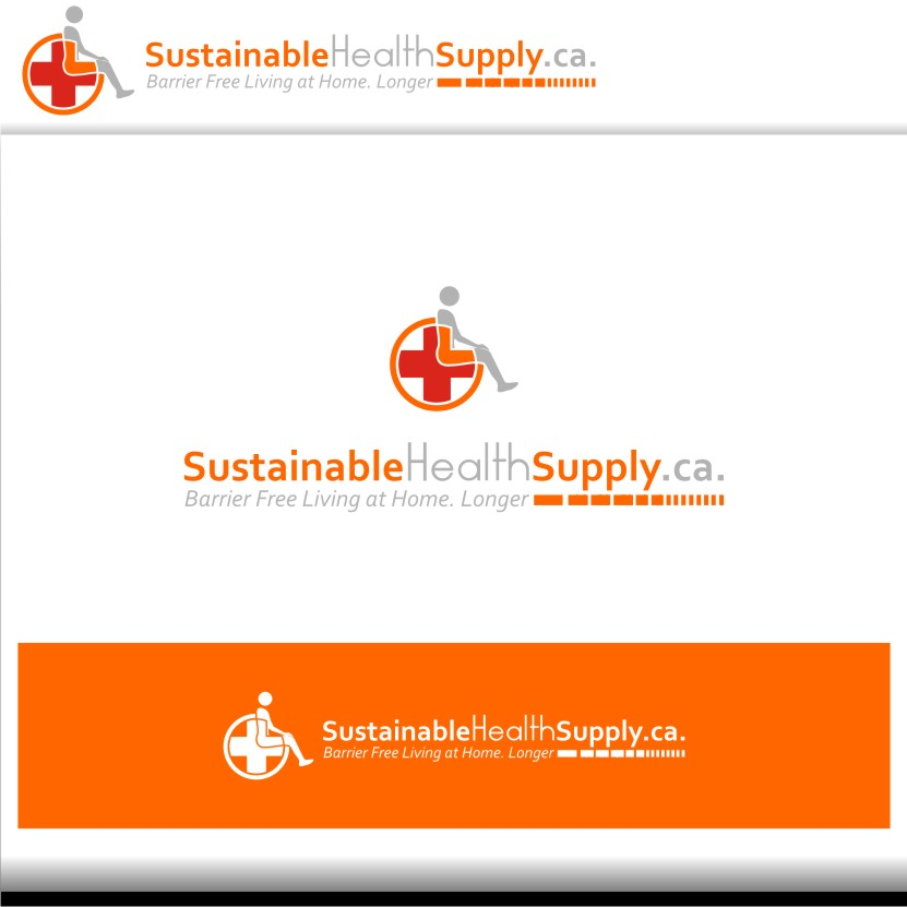 Logo Design by graphicleaf - Entry No. 18 in the Logo Design Contest Logo Design Needed for Exciting New Company Sustainable Health Supply.