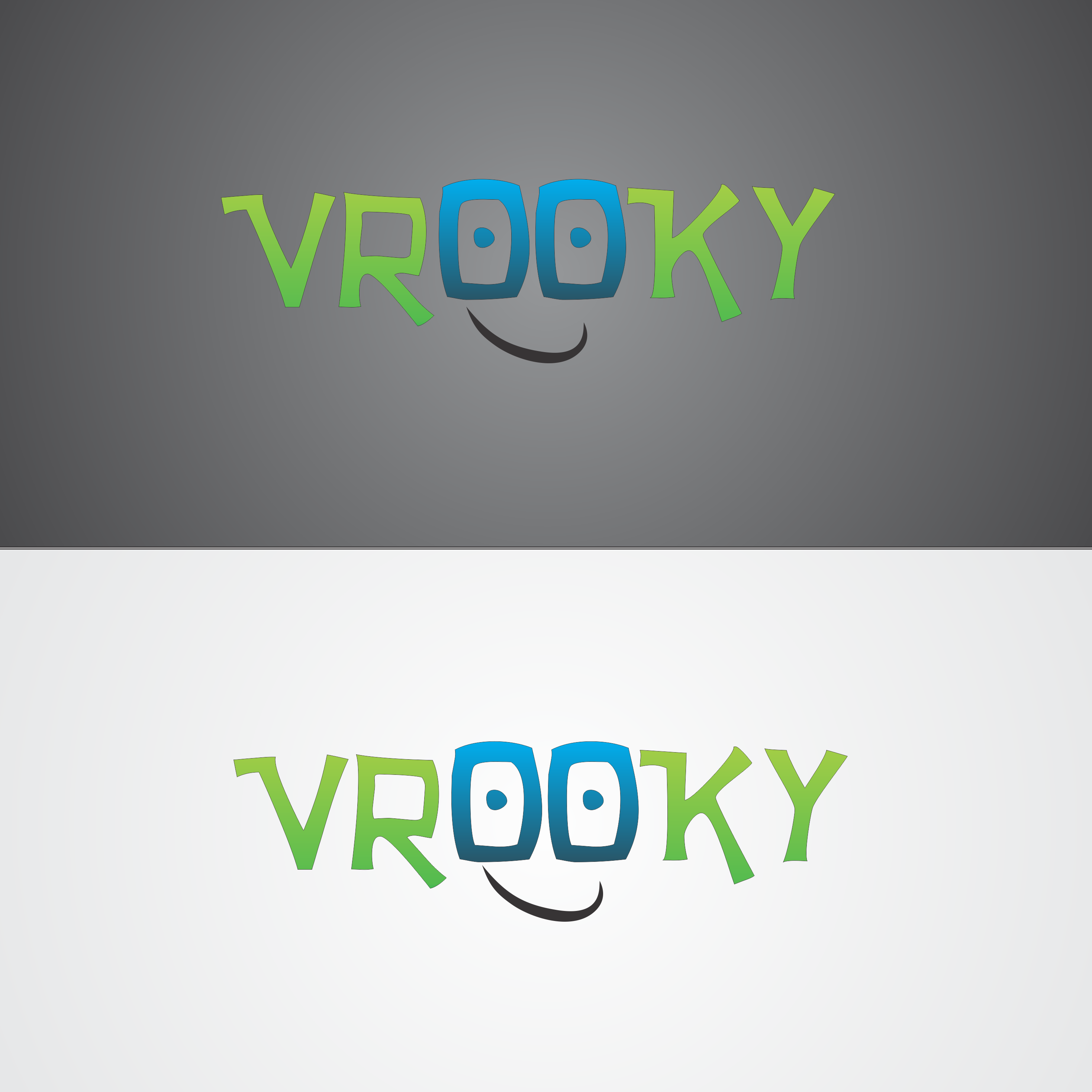Logo Design by robbiemack - Entry No. 8 in the Logo Design Contest New Logo Design for Vrooky.