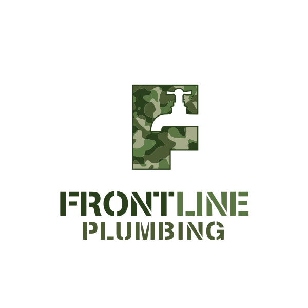 Logo Design by Rudy - Entry No. 73 in the Logo Design Contest Fun Logo Design for Front Line Plumbing.