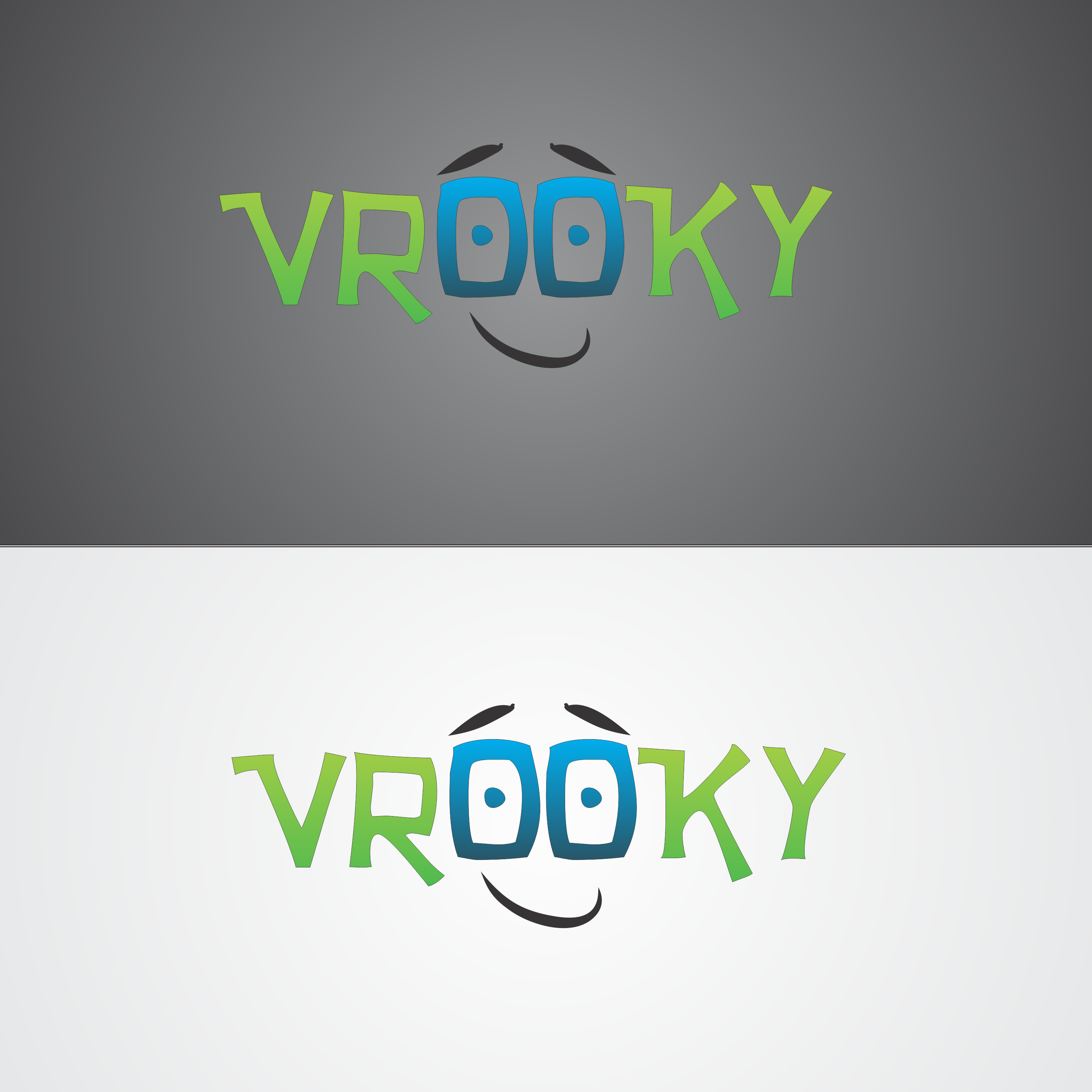 Logo Design by robbiemack - Entry No. 10 in the Logo Design Contest New Logo Design for Vrooky.