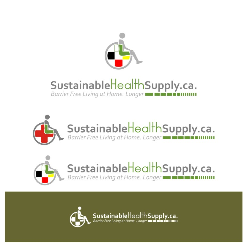 Logo Design by graphicleaf - Entry No. 20 in the Logo Design Contest Logo Design Needed for Exciting New Company Sustainable Health Supply.