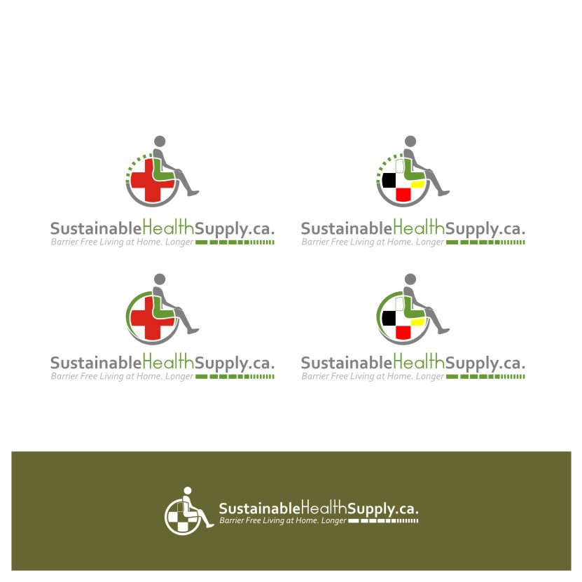 Logo Design by Muhammad Nasrul chasib - Entry No. 21 in the Logo Design Contest Logo Design Needed for Exciting New Company Sustainable Health Supply.