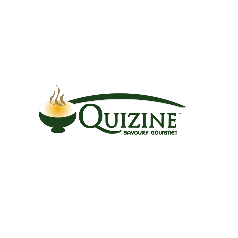 Logo Design by moonflower - Entry No. 70 in the Logo Design Contest Quizine Logo Design.