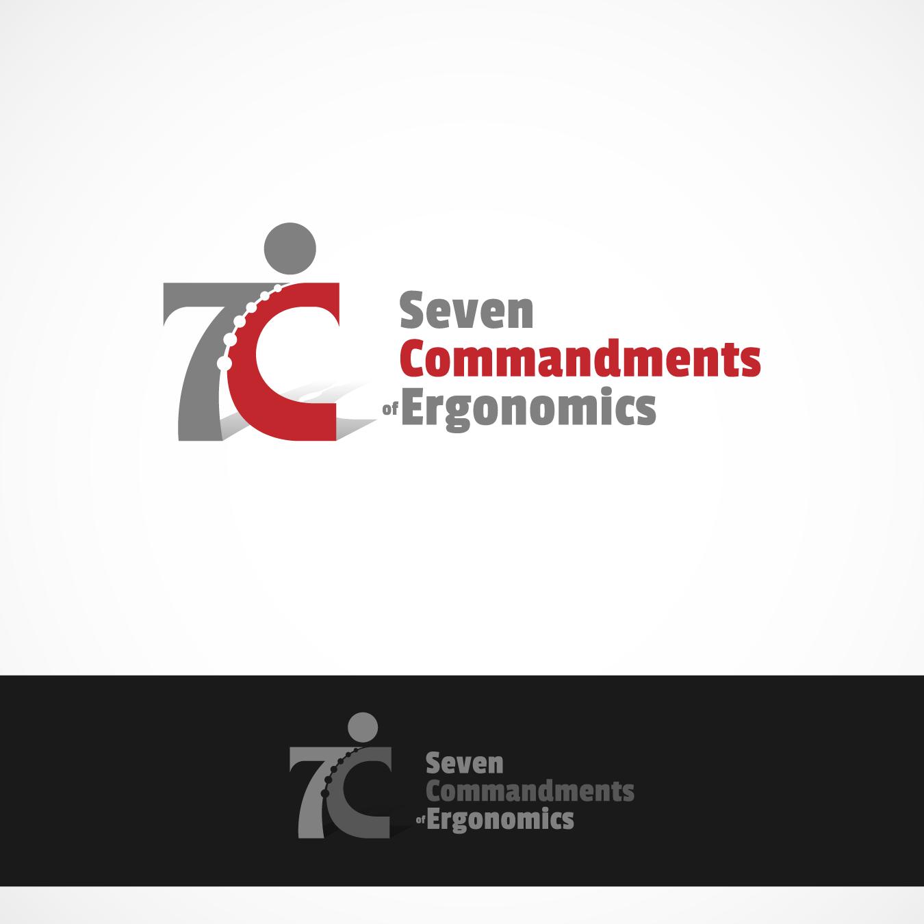 Logo Design by zesthar - Entry No. 137 in the Logo Design Contest Logo Design for Seven Commandments of Ergonomics.