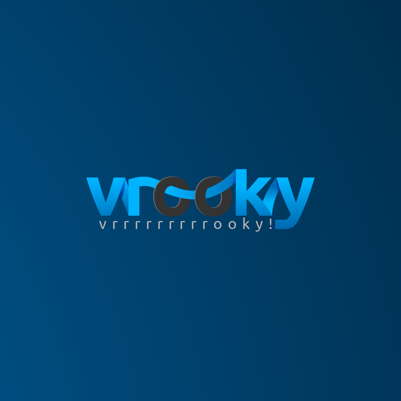 Logo Design by zesthar - Entry No. 15 in the Logo Design Contest New Logo Design for Vrooky.