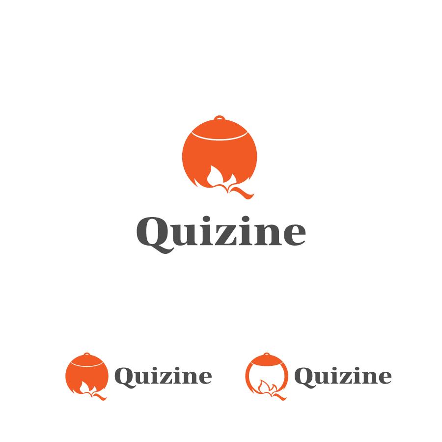 Logo Design by zesthar - Entry No. 71 in the Logo Design Contest Quizine Logo Design.