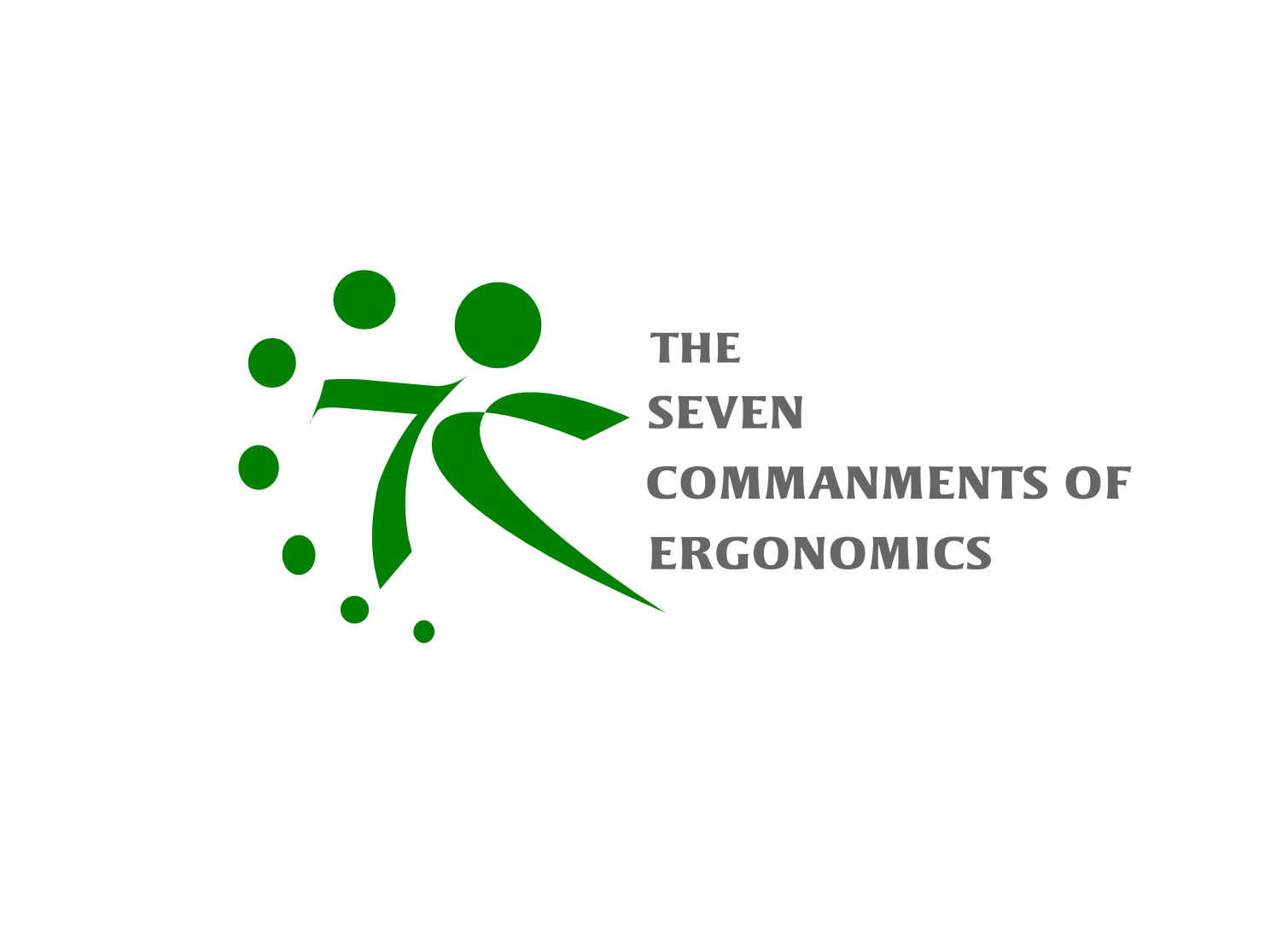 Logo Design by whoosef - Entry No. 140 in the Logo Design Contest Logo Design for Seven Commandments of Ergonomics.