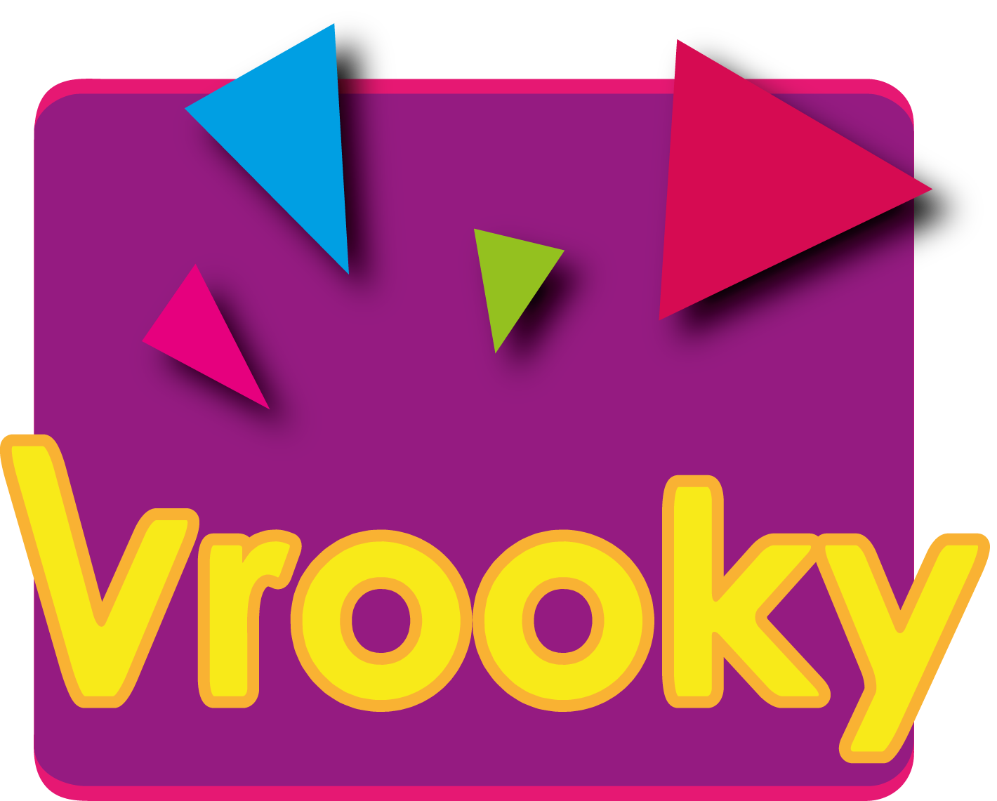 Logo Design by illusionist - Entry No. 23 in the Logo Design Contest New Logo Design for Vrooky.